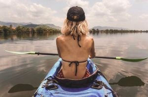 Things to do in Kampot, Kep, Cambodia: Kayak on the river