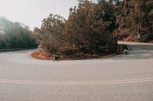 LONGBOARDING DOWN BOKOR MOUNTAIN IN KAMPOT CAMBODIA