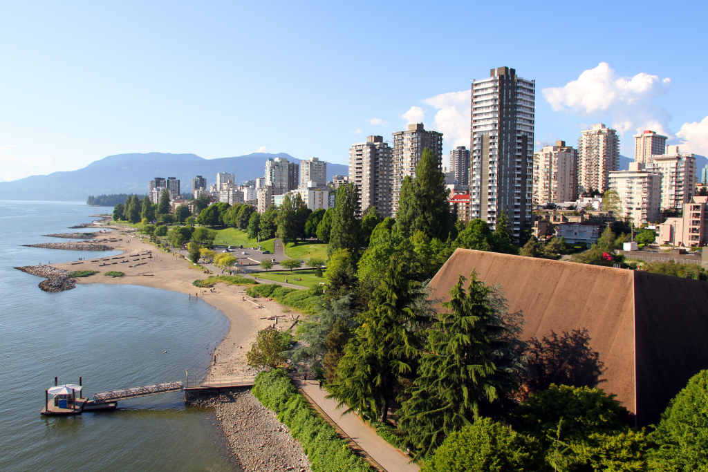 best areas to live vancouver - english bay