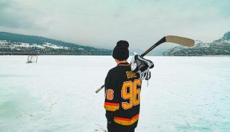 Winter in Vernon BC Canada